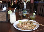 Pad Thai & Pina Colada... Yum: by margotforrest, Views[13]