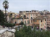 View from the top of the Spanish Steps.   : by maria_brett, Views[182]