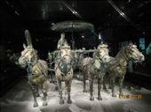bronzen wagen op schaal Xian: by marikajanwillem, Views[428]