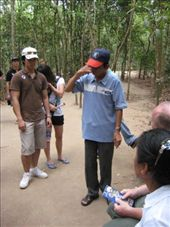 Mr Binh, our mad guide on the Cu Chi Tunnels tour: by markr_mcmahon, Views[1308]