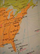 The US on a Vietnamese map of the world: by markr_mcmahon, Views[236]