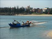 Fishing boat in Dong Hoi: by mattandnetty, Views[57]