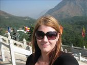 At the Po Lin Monastery on Lantau Island, standing right near the big Buddha statue. It was so amazingly beautiful up there. :): by mazystar, Views[86]