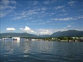North Vancouver from the Seabus: Grouse Mountain on the right!: by michelefacciotto, Views[67]