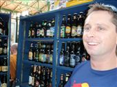 James at a beer stall at Borough markets: by milko_rosie, Views[104]