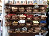 Baskets of spices at the Spice Markets, near the Gold Souk.: by milko_rosie, Views[320]