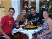 We enjoy our first Paella in Valencia, at our campground. Delicious!: by milko_rosie, Views[228]