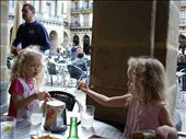 Calamare fritas as an afternoon snack in the main square of the old town/port.: by morter_family, Views[134]