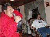 karaoke de la sala con Fernando and Eddy: by mueller-san, Views[147]