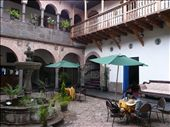 the courtyard at our Hotel Marquese in Cuzco: by muimui2009, Views[82]