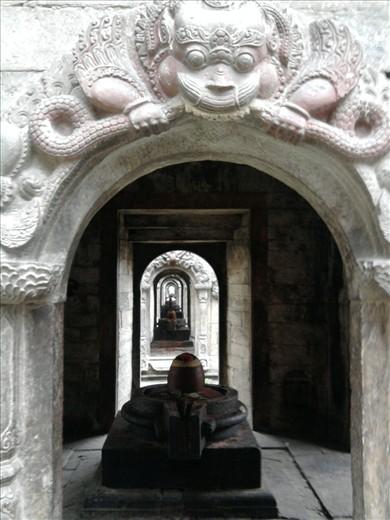 Shiva linga in Pashupatinath Pashupatinath Shiva Linga