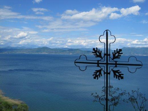 Mazedonien - lake Ohrid