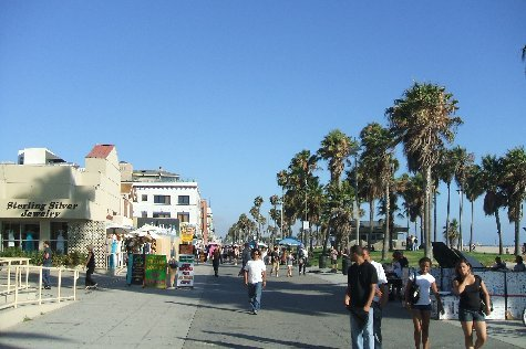 Venice Beach Promenade.