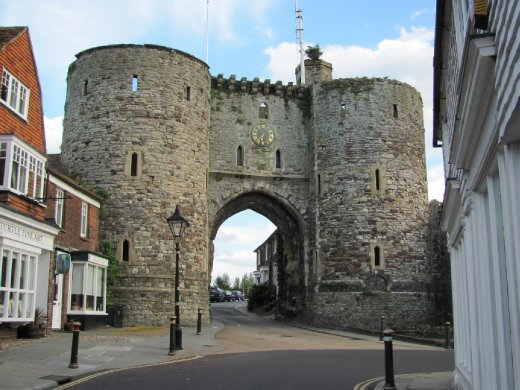 The cute village of Rye - gateway to the historical part