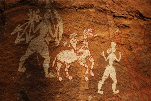 Ancient Indian Cave Paintings Ancient rock paintings tribesAncient Indian Art Paintings