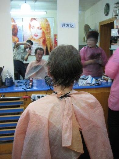 Haare schneiden  China  WorldNomadscom ~ Staubsauger Haare Schneiden