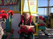 There was a big fairground in Santa cruz, and Lisa decided that it'd be rude to not go on one or two of them.  She's really brave on things like that.  I'd prefer to take pictures than bring my breakfast back up!: by paul_byrom, Views[135]