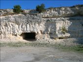 Limestone Quarry, Robben Island. This is where prisoners, including Mandela, were forced to work for 8 hours a day: by pen-eddie, Views[444]