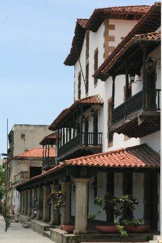 Casa Guipuzcoana en La guaira