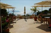 Our hotel patio looking toward Greek Islands from Kas: by pjandc, Views[40]