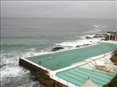 Rainy and cool at Bondi Beach, had a tough swim at the saltwater pool.: by pmok, Views[114]