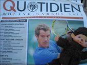 Daily news from the French Open, learned nothing because it was all in French! : by pmok, Views[57]