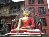 Bhudda statue at Monkey Temple: by poeanne, Views[154]