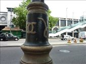 Coco Chanel and The Duke of Wesminster's logos all over the lamposts in Westminster area in London.  (He was in love with her, but she famously said 'There are many Dutchess of Westminster, but only one Coco Chanel'): by rachthe1st, Views[263]