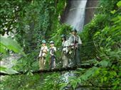 Hiking up to the an 8-zipline ride through the Reserva Natural Atitlan.: by rarakaki, Views[203]