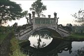 Decorative stone bridge crossing one of the meany pools: by remainingfree, Views[147]