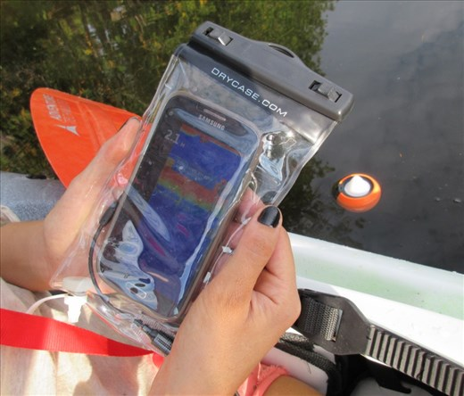 For sale fishhunter phone fish finder for kayak fishing for Phone fish finder