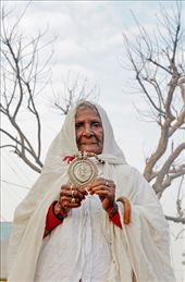 Old lady begging in the streets of Pushkar in Rajasthan,India.: by rohitgautamphotography, Views[132]