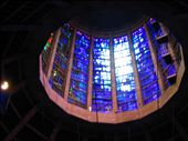 The blue stained glass top of the R.C. cathedral: by ronsan, Views[78]