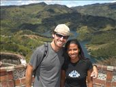 Hanging with friendly girl named Lily that is from Cartagena...met her during the trek up, and she was nice enough to invite me later on this boat in this small town called Guatape that they gave me a ride to... : by ryanj_clark, Views[126]
