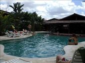 The nice pool at the 5 star backpackers hostel in La Fortuna: by ryanj_clark, Views[2832]