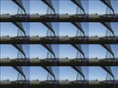 the Astoria bridge, my camera was on a weird setting, hence the multi images: by shalaith, Views[410]