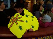 Me holding our Australia sign: by shan-in-usa, Views[79]