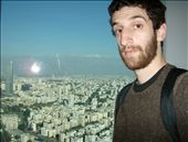 My hair looks foolish, and the background looks fake. Oh well. I don't know the verb for 'take a picture' (l'hatzlem?) in Hebrew so I did it myself.: by sstolper, Views[241]
