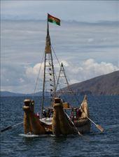 traditionelles Boot / Isla del Sol: by steffen_graz, Views[123]