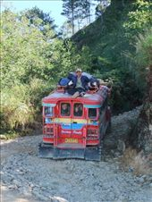 Most people cheat and get a jeepney up the track 11km to the ranger's station - not us!: by steve_and_emma, Views[127]