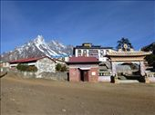 The gompa in Tengboche.: by steve_and_emma, Views[19]