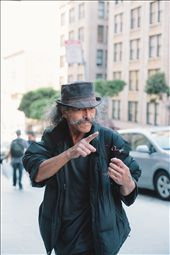 This homeless man told me he spoke four languages. He could speak them all here in San Francisco.: by stevendray, Views[29]