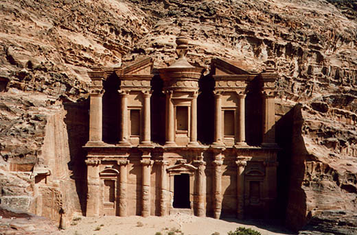 The Monastary, Petra, Jordan. (was never really a monastary, but the name stuck). It's correct name is 'El Deir'