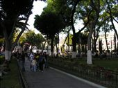 The park in the centre of Puebla.: by supaswan, Views[435]
