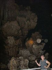Inside Phra That Cave, a 200m long cave with snakes, bats, bugs, and many, many cool formations. The biggest chamber being 30m high: by teamgavigan, Views[71]
