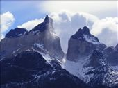 Los Cuernos del Paine, imposing mountains. An amazing windy day with rain, sun, clouds travelling so fast that makes you feel the power of nature.: by themiddleofnowhere, Views[324]