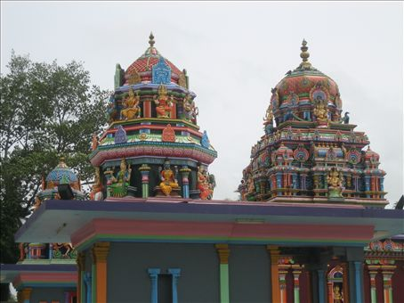 Hindu temple to the god of nature in Nadi