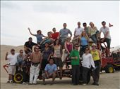 The whole gang and the dune buggys that we rode on.: by tom_lynar, Views[215]