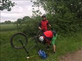 Even punctures can't stop me :-): by tony_mattravers, Views[596]