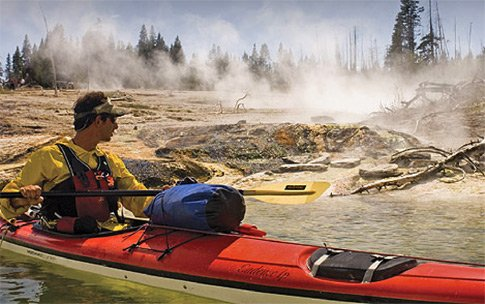Did you know you can kayak Lake Yellowstone in Wyoming?